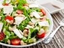 Рецепта Зелена салата с кашу, сирене Бри и дресинг